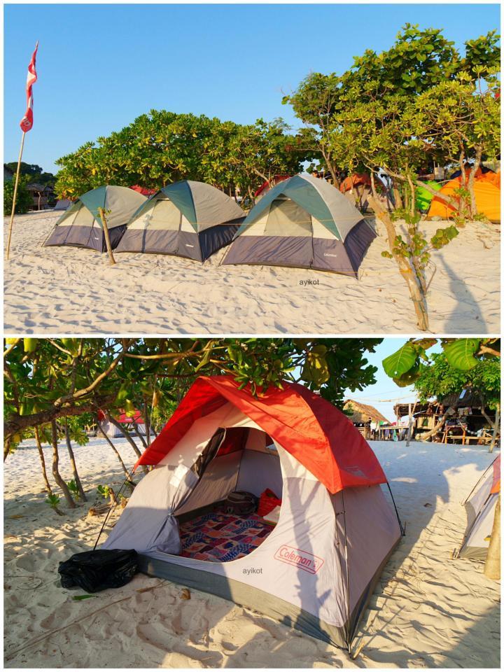 Our campsite :)